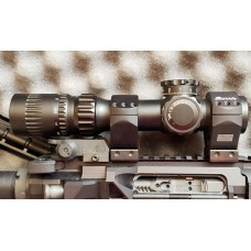 March 1-10x + 1-8x Shorty 2 Ring Adjustable Mounting Solution Burris XTR Signature Rings 4202-10-11