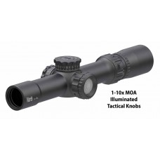 March 1-10x24mm Compact - MOA Calibrated MTR Reticles - Tactical Knobs + Zero Set - 1/4 MOA Clicks